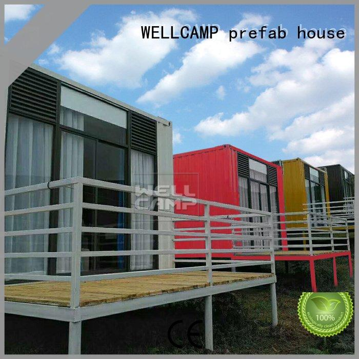 Aluminum sliding modern shipping container houseWELLCAMP, WELLCAMP prefab house, WELLCAMP container house Brand