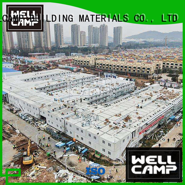 WELLCAMP, WELLCAMP prefab house, WELLCAMP container house cargo house manufacturer wholesale
