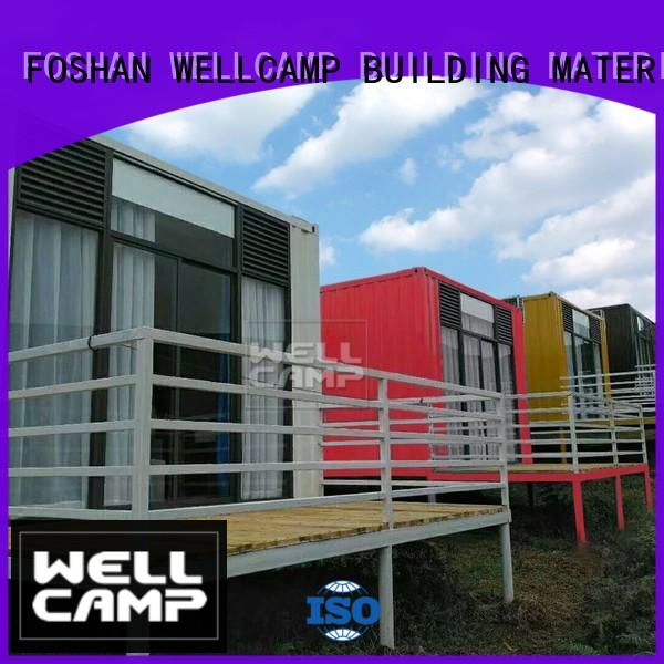 WELLCAMP, WELLCAMP prefab house, WELLCAMP container house prefab shipping container homes maker for living