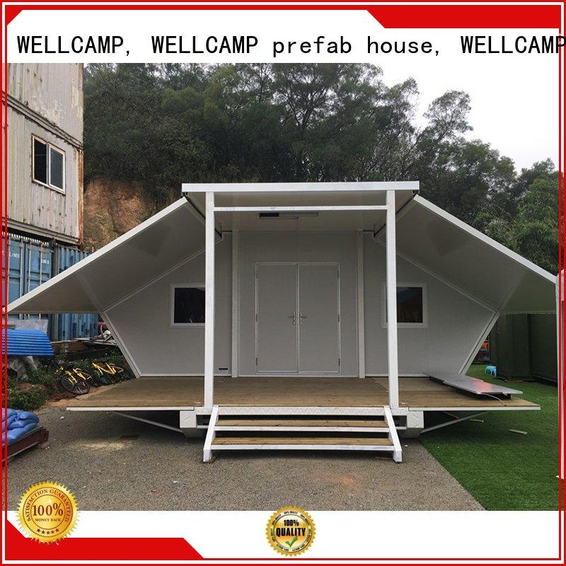 WELLCAMP, WELLCAMP prefab house, WELLCAMP container house container shelter with two bedroom for living