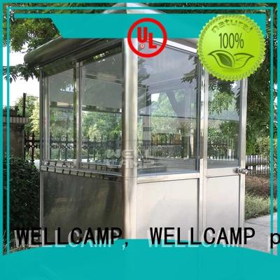 WELLCAMP, WELLCAMP prefab house, WELLCAMP container house Brand sandwich security room panel factory
