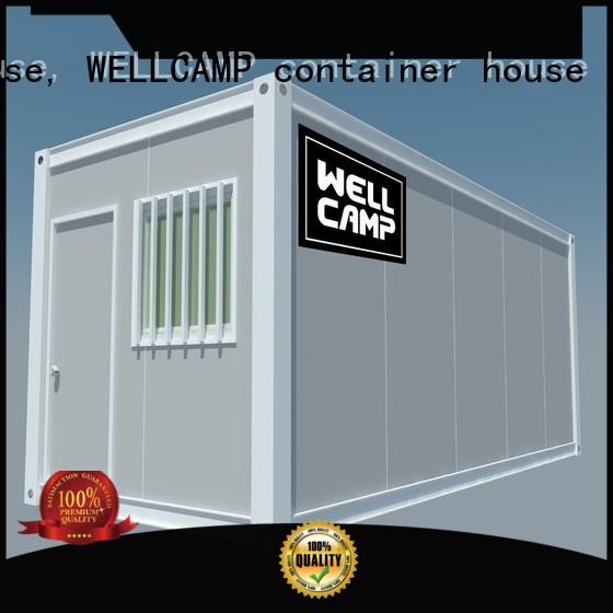 small container homes good selling wholesale WELLCAMP, WELLCAMP prefab house, WELLCAMP container house