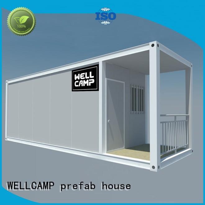 WELLCAMP, WELLCAMP prefab house, WELLCAMP container house modern container house apartment wholesale