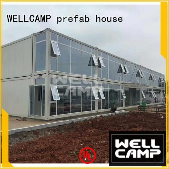WELLCAMP, WELLCAMP prefab house, WELLCAMP container house crate homes manufacturer for office