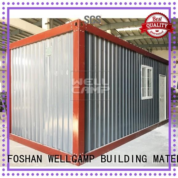 WELLCAMP, WELLCAMP prefab house, WELLCAMP container house fast installed china prefabricated container house for living