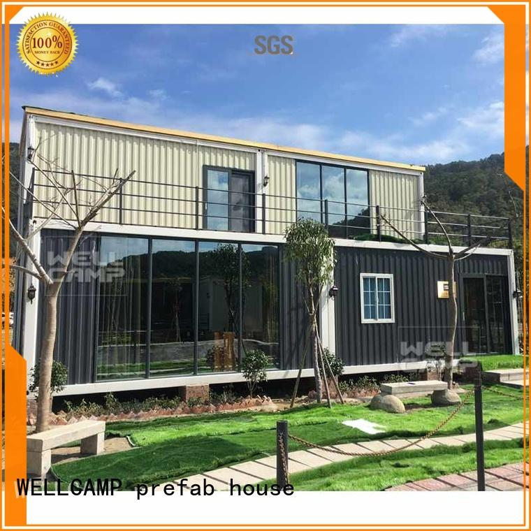 china luxurious prefab villa for sale manufacturers wholesale for sale WELLCAMP, WELLCAMP prefab house, WELLCAMP container house