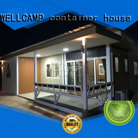 manufactured containerhomes in garden for hotel
