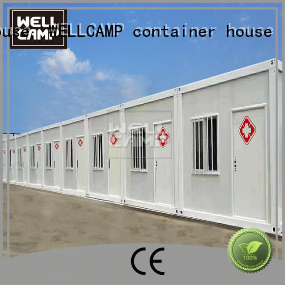 two glass container house apartment wholesale