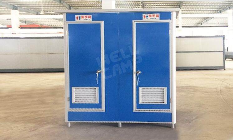 WELLCAMP, WELLCAMP prefab house, WELLCAMP container house-Find Movable Double Toilet For Outdoor, We