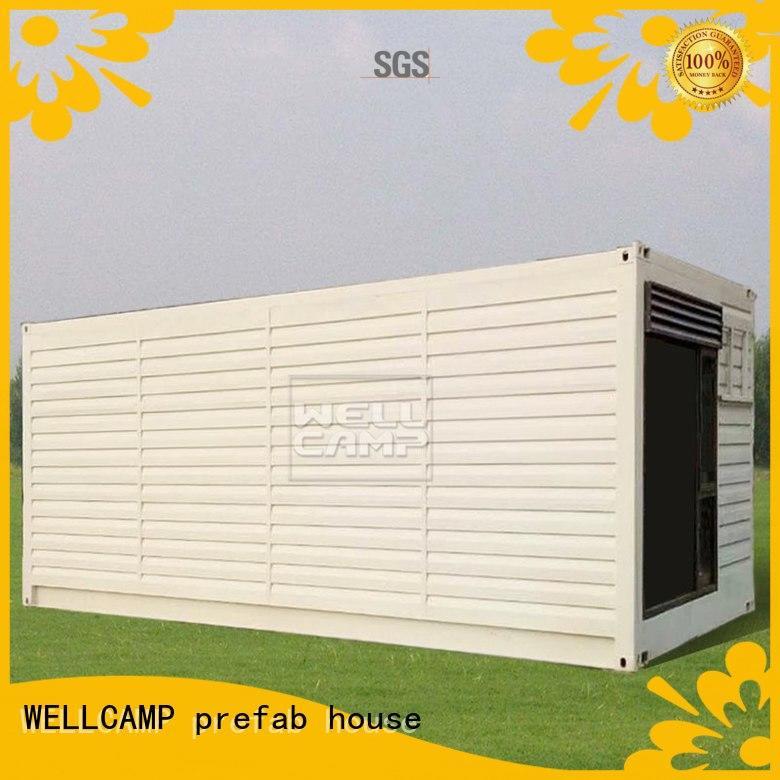 WELLCAMP, WELLCAMP prefab house, WELLCAMP container house prefab shipping container homes wholesale for hotel