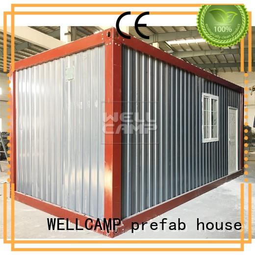 WELLCAMP, WELLCAMP prefab house, WELLCAMP container house modern container house for sale supplier for renting