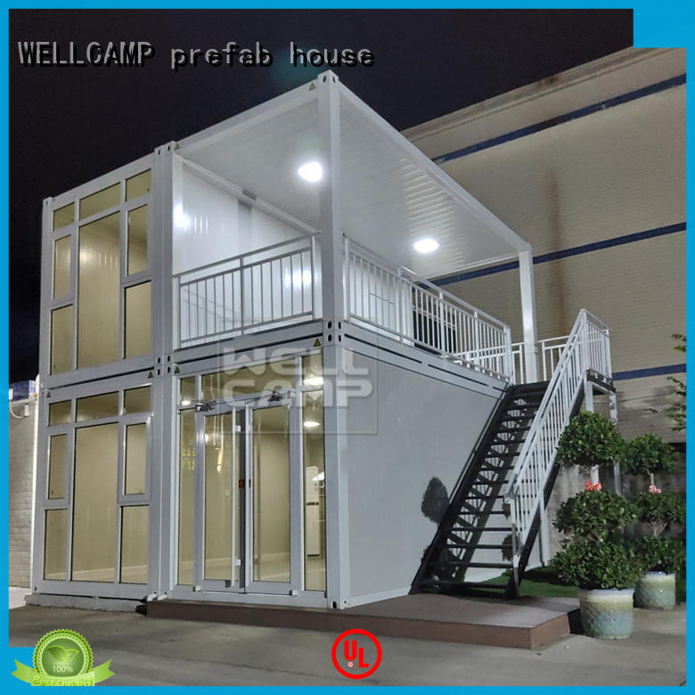 WELLCAMP, WELLCAMP prefab house, WELLCAMP container house affordable luxury living container villa suppliers labour camp for resort