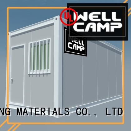 WELLCAMP, WELLCAMP prefab house, WELLCAMP container house cargo house manufacturer for office