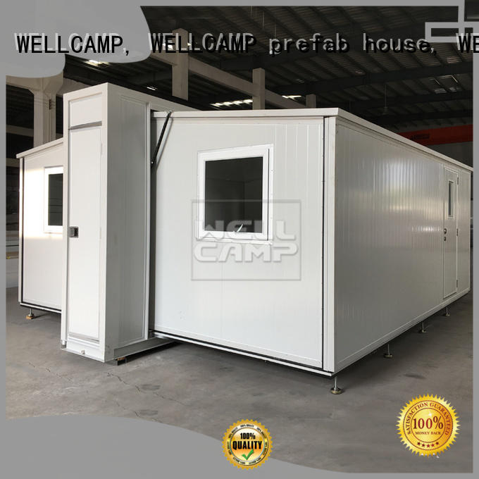 WELLCAMP, WELLCAMP prefab house, WELLCAMP container house big size container shelter wholesale for dormitory
