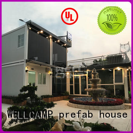 WELLCAMP, WELLCAMP prefab house, WELLCAMP container house latest luxury container homes labour camp for resort