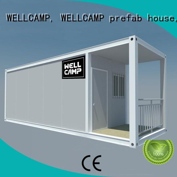 WELLCAMP, WELLCAMP prefab house, WELLCAMP container house newest best shipping container homes supplier for sale