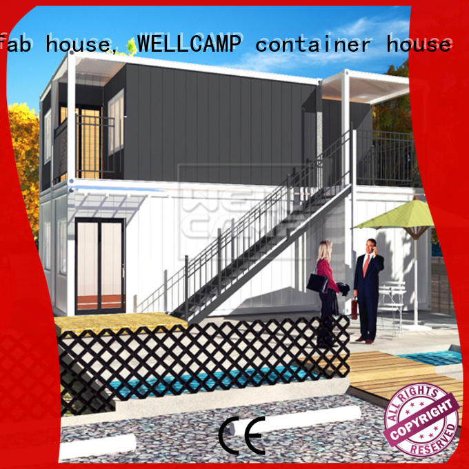 WELLCAMP, WELLCAMP prefab house, WELLCAMP container house affordable luxury container homes wholesale for hotel