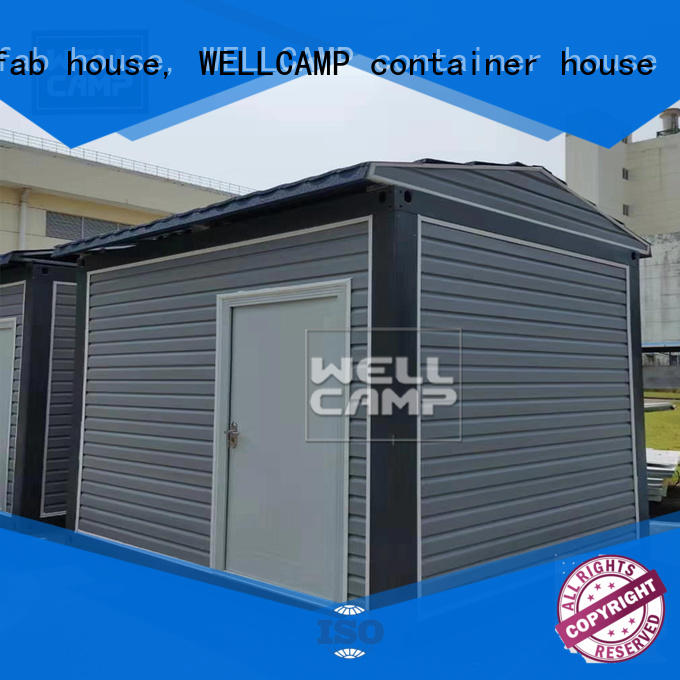 WELLCAMP, WELLCAMP prefab house, WELLCAMP container house crate homes supplier wholesale