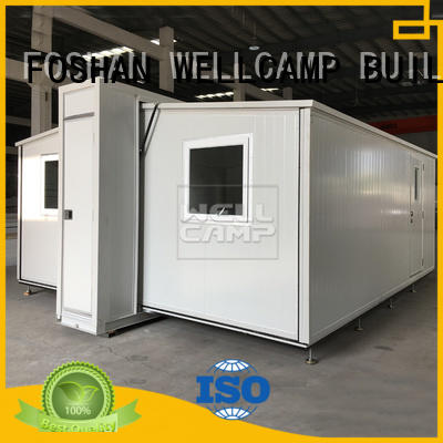 Custom expandable container house WELLCAMP, WELLCAMP prefab house, WELLCAMP container house
