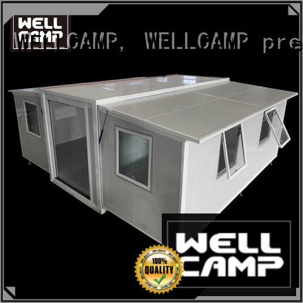 WELLCAMP, WELLCAMP prefab house, WELLCAMP container house fast install container home ideas wholesale for dormitory