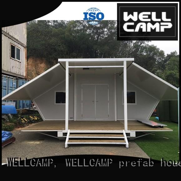 big size expandable container homes for sale supplier for apartment WELLCAMP, WELLCAMP prefab house, WELLCAMP container house