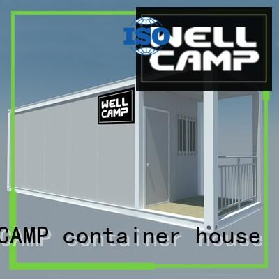 WELLCAMP, WELLCAMP prefab house, WELLCAMP container house small container homes supplier online