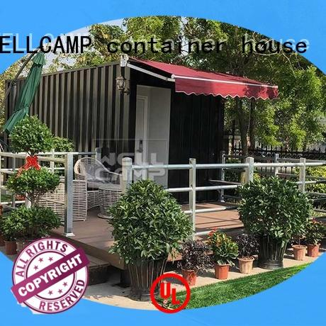 portable modular shipping container homes apartment for hotel WELLCAMP, WELLCAMP prefab house, WELLCAMP container house