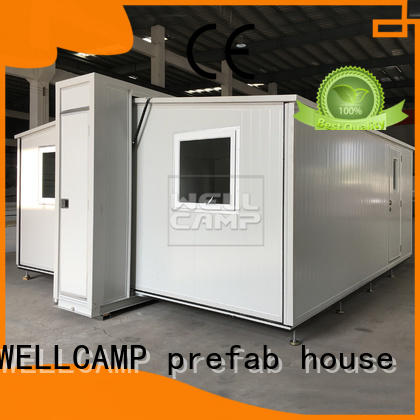 WELLCAMP, WELLCAMP prefab house, WELLCAMP container house easy install container van house design safe for dormitory