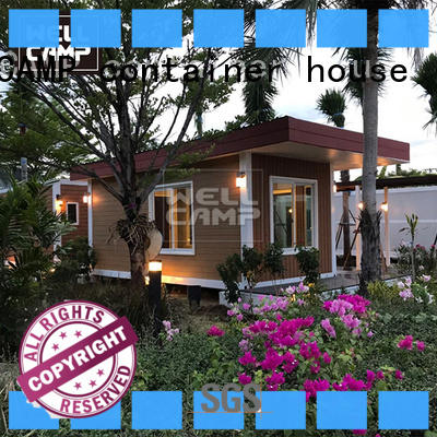 WELLCAMP, WELLCAMP prefab house, WELLCAMP container house story customized villa prefab house best for resort