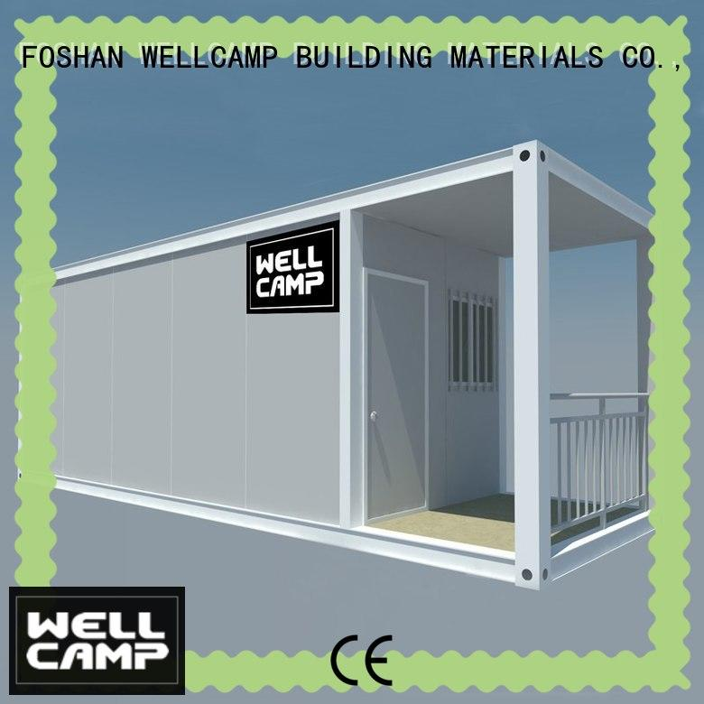 WELLCAMP, WELLCAMP prefab house, WELLCAMP container house cargo house supplier for office