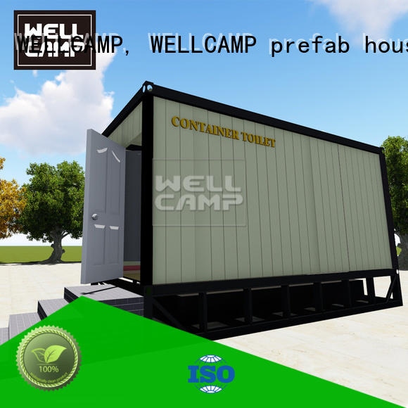 WELLCAMP, WELLCAMP prefab house, WELLCAMP container house portable toilet manufacturers public toilet online