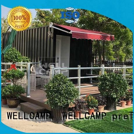 WELLCAMP, WELLCAMP prefab house, WELLCAMP container house best shipping container homes wholesale for shop or store