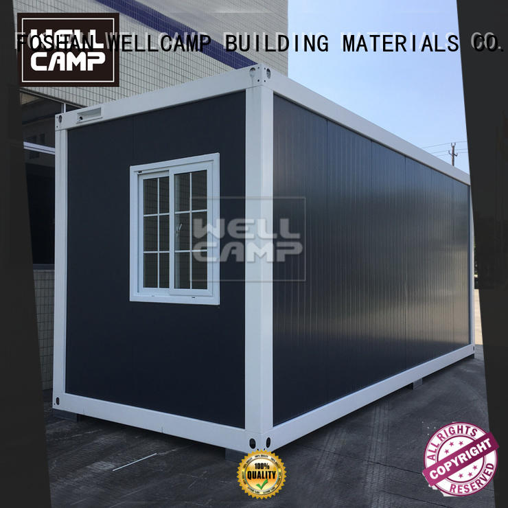 WELLCAMP, WELLCAMP prefab house, WELLCAMP container house wool flat pack container house manufacturer for sale