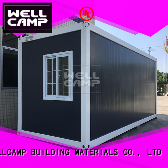 WELLCAMP, WELLCAMP prefab house, WELLCAMP container house professional flat pack shipping containers for sale supplier for sale