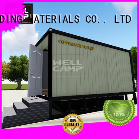 WELLCAMP, WELLCAMP prefab house, WELLCAMP container house move portable toilet manufacturers public toilet for outdoor