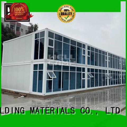WELLCAMP, WELLCAMP prefab house, WELLCAMP container house wool shipping container house floor plans apartment for sale